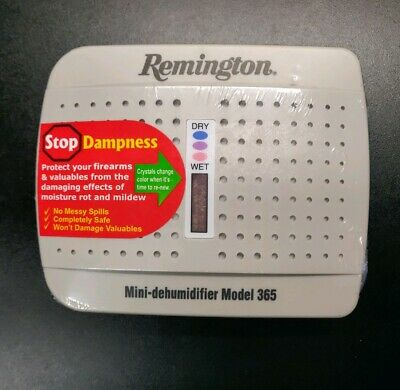 Remington 19946 Model 500 Mini Dehumidifier For Gun Safe Storage Stops Dampness