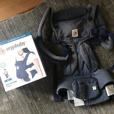 ergobaby 360 omni - Premium Cotton - Navy