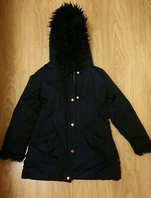 Ted Baker Coat - Girls Age 9 - Navy - Used