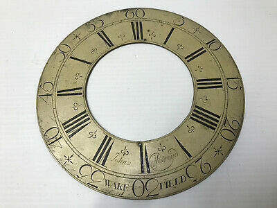 """Long Case Clock  11"""" Chapter ring,"""