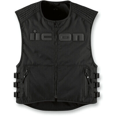 Icon Brigand Armored Look Bullettproof Style Motorcycle Outrider Police Vest