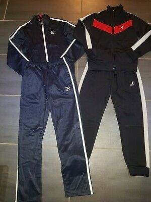 Boys sport bundle partick and Kangol x 2 tracksuits age 9 to 10