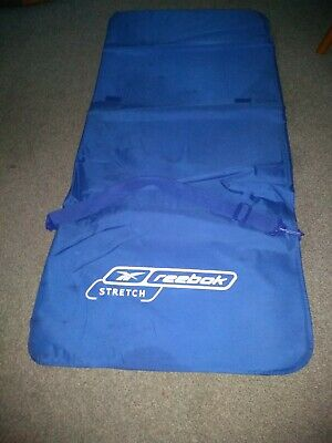 Reebok Stretch Matt Yoga Exercise Pilates Fitnes Training Meditation