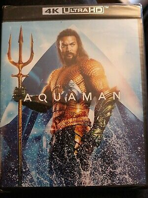 Aquaman 4K Ultra HD + BluRay, Brand New