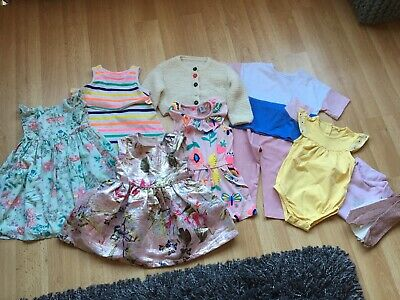 GIRLS CLOTHES BUNDLE AGE 9-12 MONTH FROM NEXT etc