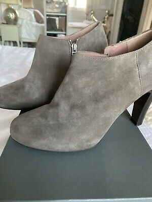Mint Velvet Grey Suede Ankle Shoe Boots size UK 5 - great condition