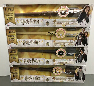 Complete Set of 4 BRAND NEW Harry Potter Wizard Training Wands FAST SHIP