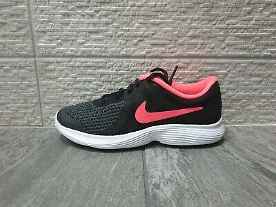 Nike Revolution 4 Gs Womens Girls  Trainers Running Shoes Size Uk 5.5 Sports Gym