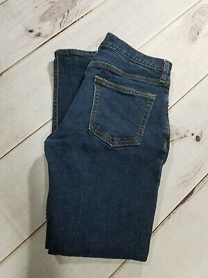 Old Navy Slim Skinny Dark Blue Jeans Mens/Boys Size 30 x 30 Inseam 28""