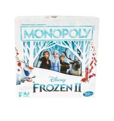 NEW Disney Frozen II 2 Monopoly Board Game By Hasbro 2019 Sealed GIFT KID ADULTS