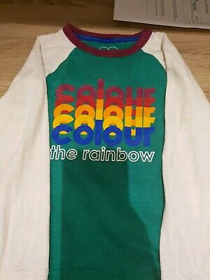 Little Bird by Jools Oliver Colour The Rainbow Tshirt Age 4-5 Lovely