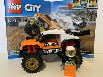 LEGO City 60146 Stunt Truck 100% Complete with Instructions EXCELLENT CONDITION!