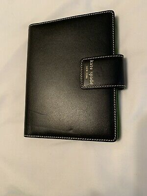 KATE SPADE NEW YORK Black/GreenLEATHER photo album BRAG BOOK New Without Tags