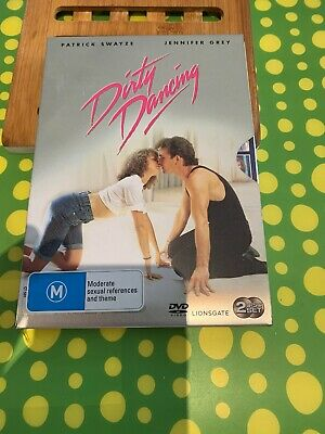 Dirty Dancing In Metal Tin 2 DVD Disc VGC+ Patrick Swayze Jennifer Grey