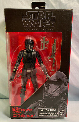 "Star Wars The Black Series 6"" Inch Imperial Death Trooper #25 Hasbro Disney"