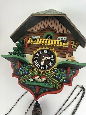 Black Forest GERMAN Cuckoo   Clock - For restoration Or Repair