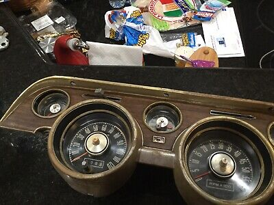 1968 Mustang Gt Tach Cluster 120 6 Grand Nice Used