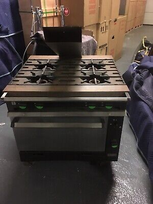 Falcon chieftain 4 Burner Commercial Gas Cooker
