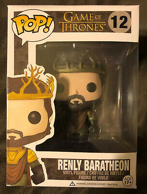 Funko Pop! Game of Thrones - Renly Baratheon #12 Retired Vaulted READ