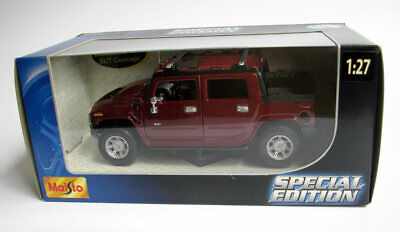 Maisto 1:27 HUMMER 2001 SUT H2 Concept 31233 Special Edition Die Cast Metal Car
