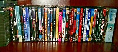 Your Choice DVD Lot! Pers Collection of Action/Drama/Documentary/Family Exc Cond