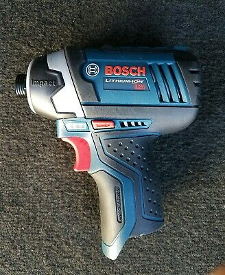 """Bosch PS41 12V 1/4"""" Hex Lithium Ion Impact Driver"""
