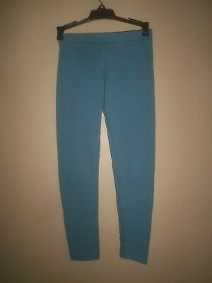 Girl Primary.com Primary The Leggings Slate Blue Cotton Stretch Pants Size 10