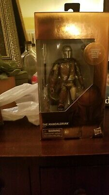 Star Wars THE MANDALORIAN Black Series Carbonized Target Exclusive