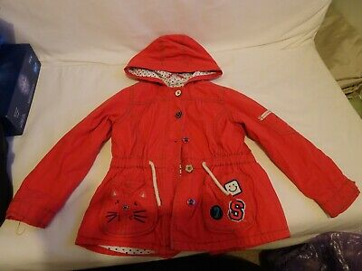 Girls Next red jacket size 5-6 years