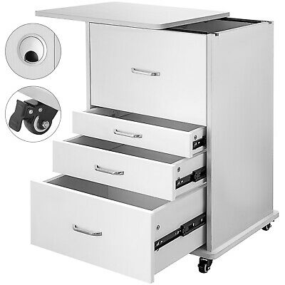 Medical Dental Assistants Mobile Cabinet Alabama Cart With Handle & Brake