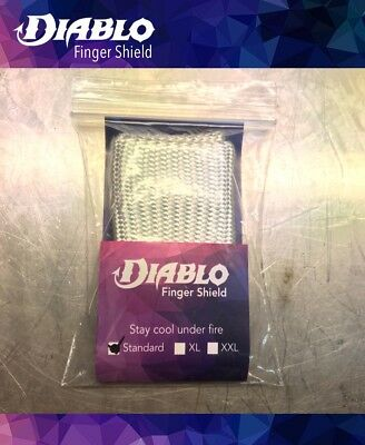 Diablo Tig Finger Heat Shield **MADE IN THE UK** Stay Cool Under Fire