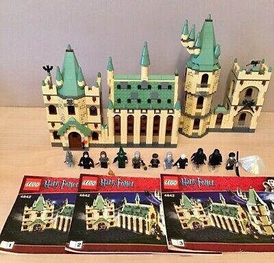 Lego 4842 Harry Potter Hogwarts Castle Complete With Instructions