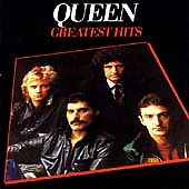 % Queen - Greatest Hits cd freepost in very good condition