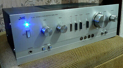 JVC A-S5 RARE Audiophile Stereo Integrated Amplifier - A POWER HOUSE+MODS!