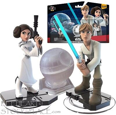 STAR WARS Disney INFINITY 3.0 Rise Against the Empire Set (3 Piece) NEW / SEALED