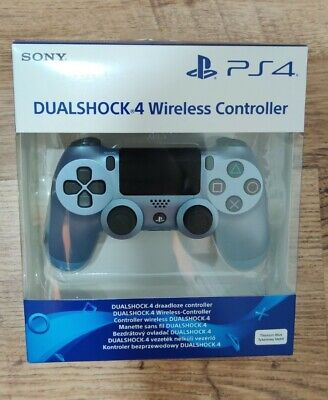 Sony DUALSHOCK 4 V2 Wireless Controller for PlayStation 4 Titanium Blue PS4 BNIB