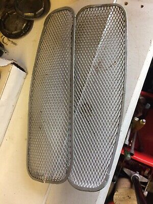 Rover SD1 Windscreen Scuttle Vents Early Metal Type. SDi. FREE POST UK MAINLAND