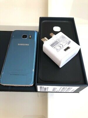 Samsung Galaxy S7 edge SM-G935F - 32GB - BLUE  (Unlocked)