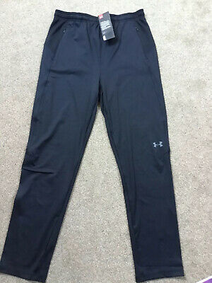 Boys / Girls Black Under Armour Joggers Black Age 13 BNWT