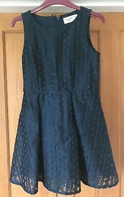 Girls Abercrombie Kids Navy Party Dress Age 11-12 Years