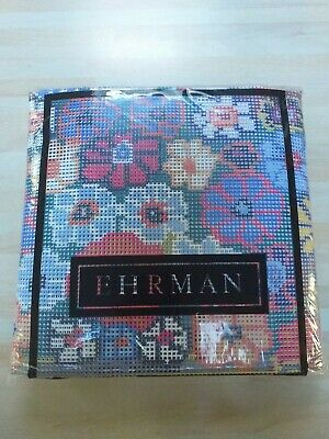 EHRMAN-BEAUTIFUL FLORAL COMPLETE TAPESTRY STITCH KIT-NEW SEALED in PACKET