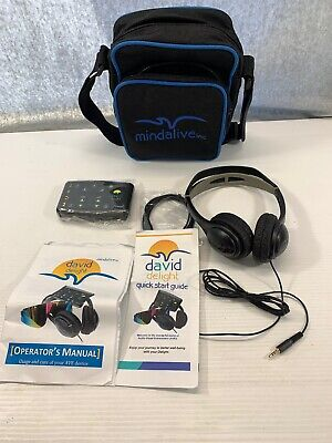 New Mind Alive David Delight With Ces Light And Sound Therapy Machine