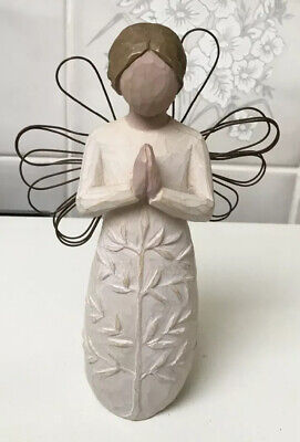 Susan Lordi Willow Tree: 'A Tree a Prayer' Figurine: c14cm tall: 2005 Unboxed.