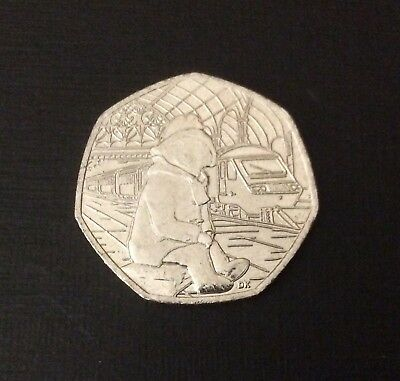 50p Coin 2018 Paddington Bear At The Station FREEPOST