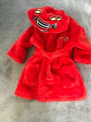Boys BLAZE And Monster Machines Dressing Gown Age 1.5-2 George 18 24 Months