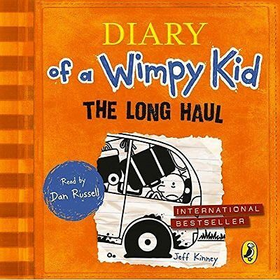 %  The Long Haul (Diary of a Wimpy Kid by Jeff Kinney (CD-Audio very good condit