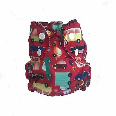 AppleCheeks Washable Swim Diaper 20-35 lbs Red I Car Size 2 Free S/H