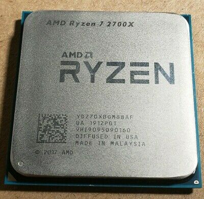 AMD Ryzen 7 2700 X 2nd Gen. CPU 4.3GHz Eight Core YD270XBGM88AF Socket AM4
