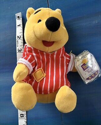 WINNIE THE POOH HUNNY POT SHAPED CANISTER  DISNEY FREE SHIPPING SAN2883