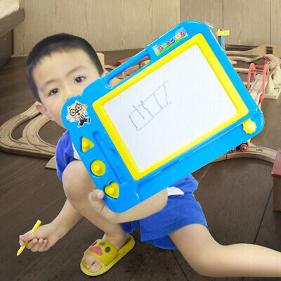 Children Magnetic Gift Doodle Pad Drawing Board Sketch Pad Writing Slate Kids